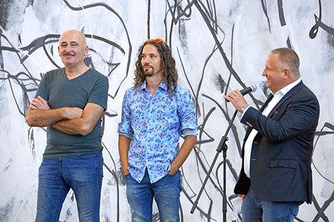 Hannes Mlenek, Roman Grabner, Claudio G. Cocca