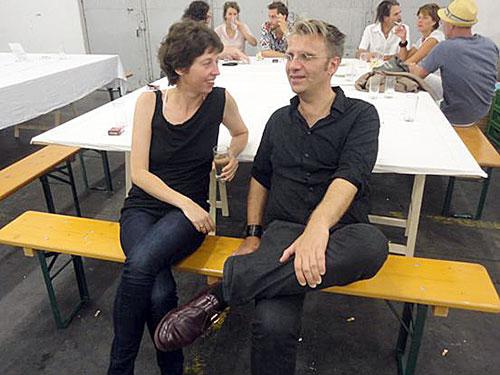 Großansicht Eva Dertschei mit Dr. Andreas L. Hofbauer