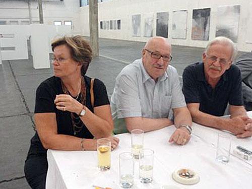 Großansicht Niko Sturms Eltern mit Helmut Pichler