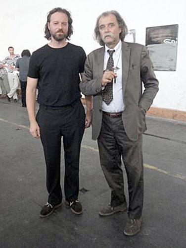 Großansicht Niko Sturm mit Architekt Paolo Piva