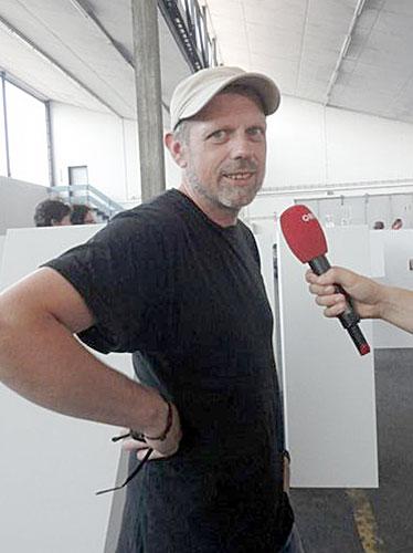 Großansicht Der slowenische Künstler Oliver Marceta