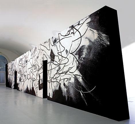 Hannes Mlenek - Transforming Walls (Foto: faksimilie digital, Peter Kainz)
