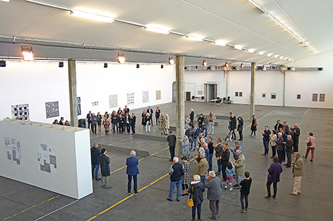 Wolfgang Ernst bei Kunst an der Grenze