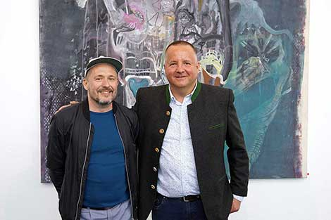 Christoph Mayer und Claudio Cocca