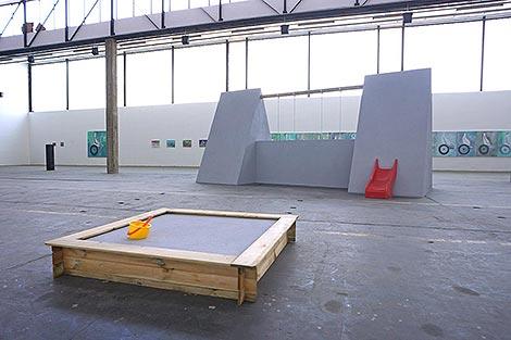 Ronald Kodritsch bei Kunst an der Grenze