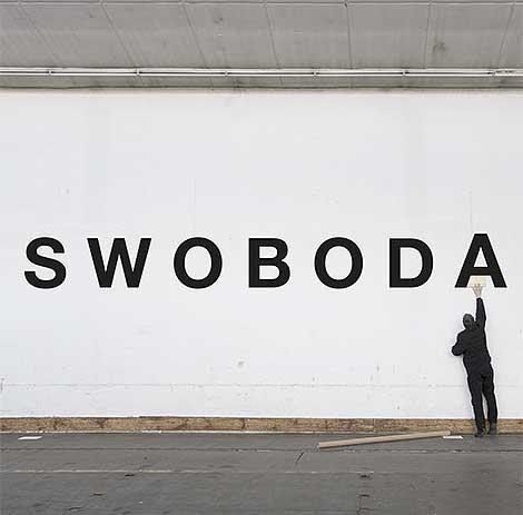 Helmut Swoboda bei Kunst an der Grenze